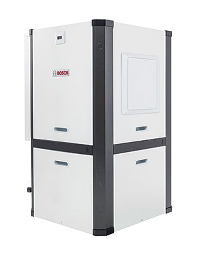 Bosch geothermal heat pumps provide uyear round comfort utalizing the earth's energy.